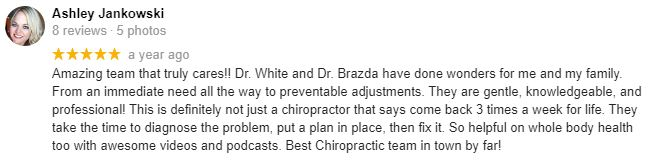 Chiropractic Omaha NE Patient Testimonial at Sarpy Chiropractic 5
