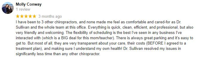 Chiropractic Omaha NE Patient Testimonial at Sarpy Chiropractic