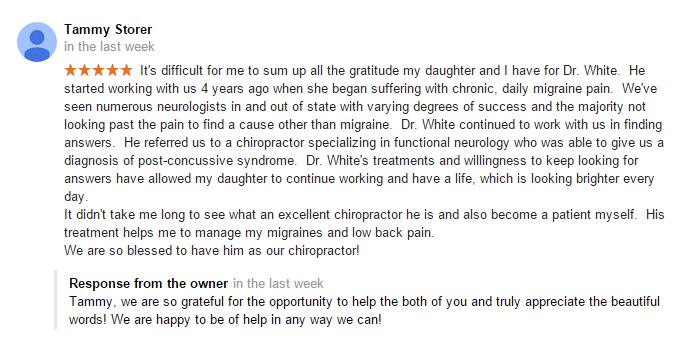 Chiropractic Papillion NE Testimonial 14